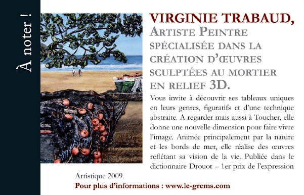 magazine evasion voyage international 2009 - article de presse sur l artiste peintre virginie trabaud